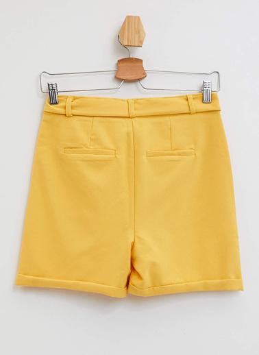 DeFacto Şort Sarı